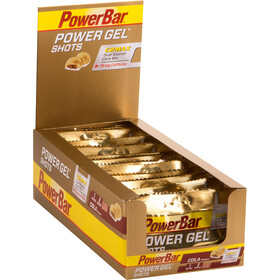 PowerBar PowerGel Shots Box 16x60g, Cola with Caffein